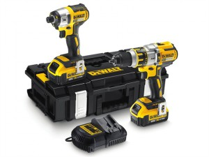 DCK255M2 Brushless Twin Pack 18 Volt 2 x 4.0Ah Li-Ion