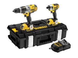 DCK290M2 XR Premium Drill & Impact Driver Kit 18V 2 x 4.0Ah Li-ion