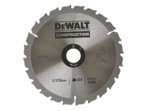 Circular Saw Blade 216 x 30mm x 24T Series 30 Construction Fast Rip