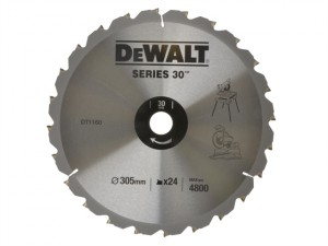 Circular Saw Blade 305 x 30mm x 24T Series 30 Fast Rip