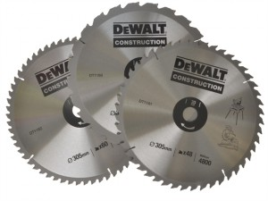 Circular Saw Blades 305mm Set of 3 in Auminium Case
