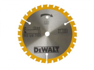 Trim Saw Blade 136 x 10mm x 30T Fine Finish