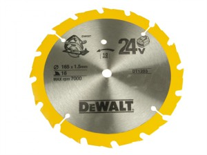 Trim Saw Blade 165 x 10mm x 36T Fine Finish