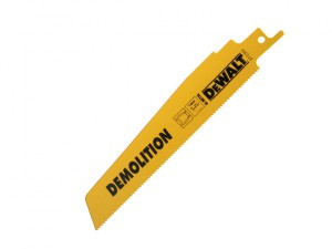 Sabre Blade Demolition Metal Sheet Profile & Tube 152mm Pack of 5
