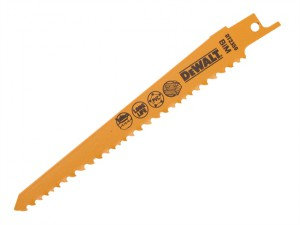 Sabre Blade Fast Cuts Wood with Nails Plastics 152mm Pack of 5