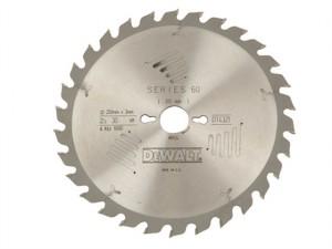 Series 60 Circular Saw Blade 250 x 30mm x 40T