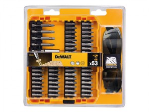 DT71540 High Performance Screwdriving Bit Set 53 Piece