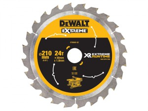 FlexVolt XR Table Saw Blade 210mm x 30mm 24T