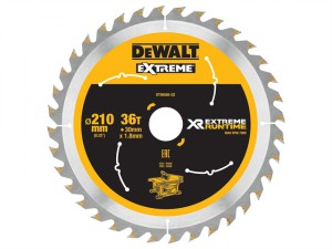 FlexVolt XR Table Saw Blade 210mm x 30mm 36T
