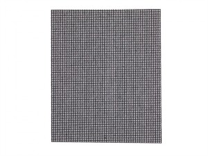 DTM3022 1/4 Mesh Sanding Sheets 80 Grit (Pack of 5)