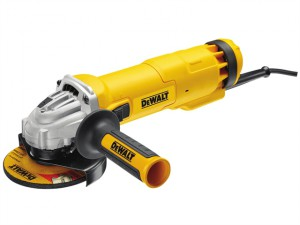 DWE4206K 115mm Mini Grinder With Kitbox 1010 Watt 110 Volt