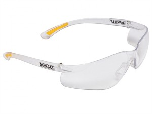 Contractor Pro ToughCoat™ Safety Glasses - Clear