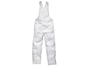 Painter's Bib & Brace White M (40-42in)