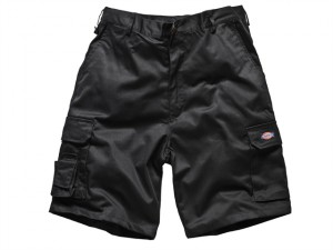 Redhawk Cargo Shorts Black Waist 30in