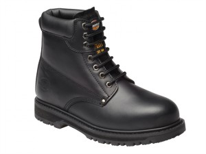 Cleveland Black Super Safety Boots UK 10 Euro 44