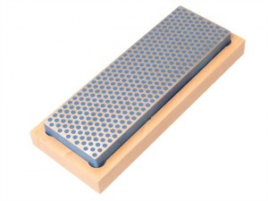 Diamond Whetstone 150mm Wooden Box Blue 325 Grit Coarse