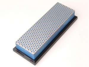 Diamond Whetstone 150mm Plastic Case Blue 325 Grit Coarse