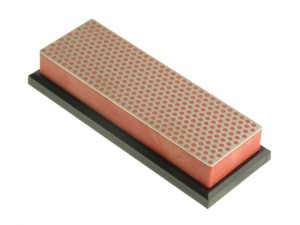 Diamond Whetstone 150mm Plastic Case Red 600 Grit Fine