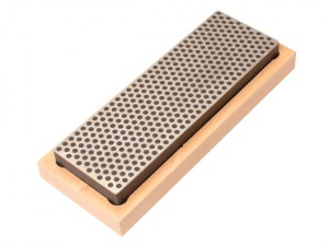 Diamond Whetstone 150mm Wooden Box Black 220 Grit Extra Coarse