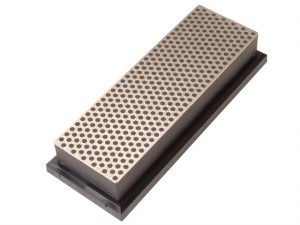 Diamond Whetstone 150mm Plastic Case Black 220 Grit Extra Coarse