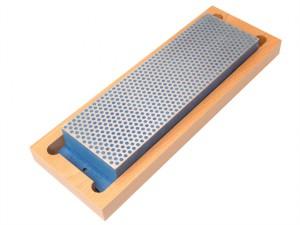 Diamond Whetstone 200mm Wooden Box Blue 325 Grit Coarse