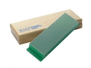 Diamond Whetstone 200mm Wooden Box Green 1200 Grit Extra Fine