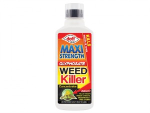 Maxi Strength Glyphosate Weed Killer 250ml