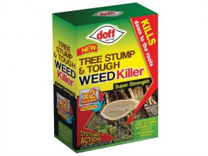 Tree Stump & Tough Weedkiller 2 Sachet