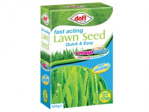 Fast Acting Magicoat Lawn Seed 420g