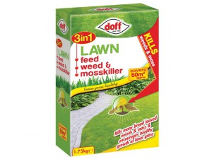 3in1 Lawn Feed, Weed & Moss Killer 1.75kg