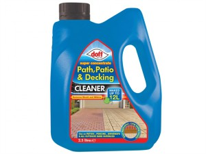 Super Strength Path Patio & Decking Cleaner Concentrate 2.5 Litre