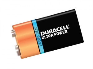 9V Cell Ultra Power Battery Pack of 1