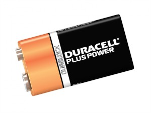 9v Cell Plus Power Battery Pack of 2 MN1604/6LR6