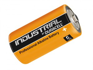 C Cell Professional Alkaline Industrial Batteries Pack of 10