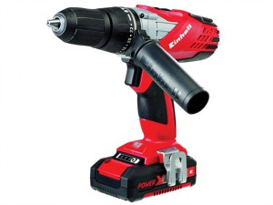 TE-CD 18LI Power X-Change Cordless Combi Drill 18V 1 x 1.5Ah Li-Ion