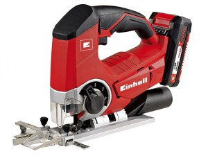 TE-JS 18 LI Kit Power X-Change Cordless Jigsaw 18 Volt 1 x 2.0Ah Li-Ion