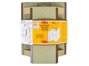 28 Skirting Board Mitre 150mm (6in)