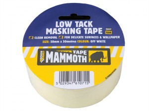 Low Tack Masking Tape 25mm x 25m