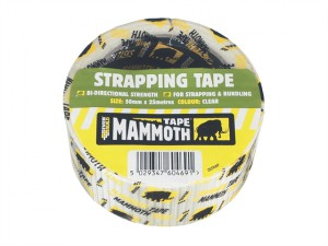 Strapping Tape Clear 50mm x 25m