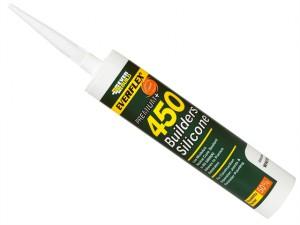 450 Builders Silicone Sealant White 310ml