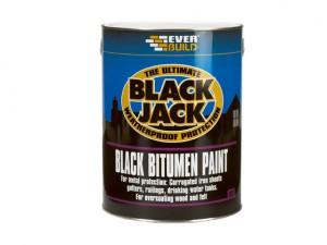 Black Jack Bitumen Paint 1 Litre