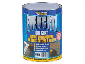 Evercryl One Coat Compound, Clear 5kg