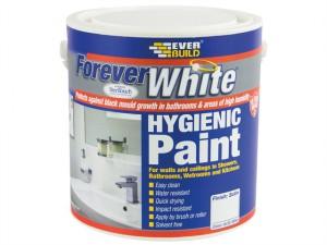 Forever White Hygienic Paint Satin 2.5 Litre