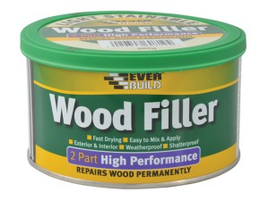 Wood Filler High Performance 2 Part Light 500g