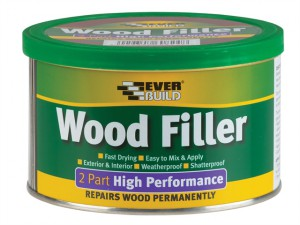 Wood Filler High Performance 2 Part Oak 500g