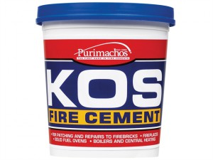 KOS Fire Cement Black 1kg