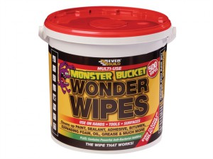 Monster Wonder Wipes Tub of 500