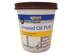 101 Multi-Purpose Linseed Oil Putty, Brown 2kg