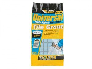 Universal Flexible Grout White 5kg