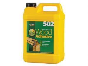 502 All Purpose Weatherproof Wood Adhesive 5 Litre